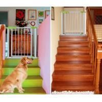 Quality Steel automatic Babies Safety Gates for Stairs , Kids Safety Gates for sale
