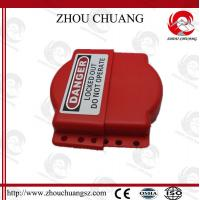 Wholesale Red Safety Adjustable Durable Polypropylene Gate Valve Lockout  for lock from china suppliers