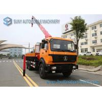 Wholesale Beiben NG80 Cabin Truck With Crane 6x4 Crane Mounted Truck 336 hp from china suppliers