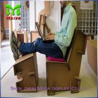 Wholesale Customized Corrugated Foldable cardboard desk For Advertisement And Company Logo from china suppliers