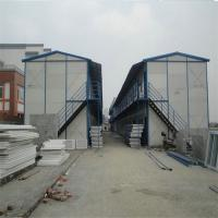 Buy cheap 2 floors slope -40C°-80C° K type prefabricated house with light steel structure from wholesalers