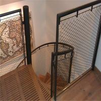 Quality Ferruled type 60 mm eye mesh size cable wire mesh balustrade infill panel for sale