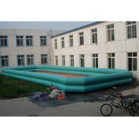 Wholesale 12m * 6m Commercial Square Inflatable Water Pool For Rental / Zorb Ball from china suppliers