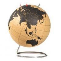 Wholesale Medium Cork Globe for Map World Diameter 228mm(9'') from china suppliers