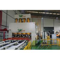 China Single Layer Short Cycle Lamination Line For Melamine Paper Board / MDF Board on sale