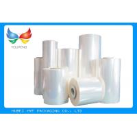 Wholesale 40 MIC Clear Blown PVC Heat Shrink Film Rolls For Thermo shrinking / Sleeve / Labels from china suppliers