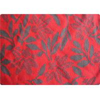 Wholesale Lightweight Red Jacquard Dress Fabric Apparel Fabric By The Yard from china suppliers