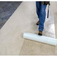 China Printable Reverse Wound Heavy Duty Carpet Protection Film puncture resistance on sale
