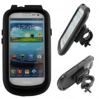 Wholesale Bicycle Handlebar Mount Holder Bike Waterproof Case Bag For Samsung Galaxy S3 i9300 from china suppliers