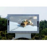 Wholesale DIP 1R1G1B 6mm Outdoor Fixed LED Display 7000 cd/m2 bightness NovaStudio software from china suppliers