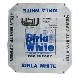 Wholesale 20kg 25kg 30kg 35kg 40kg 50kg square bottom pp valve bag from china suppliers