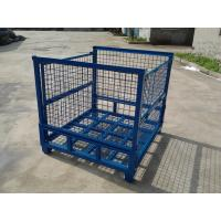 Wholesale Heavy duty wire mesh storage steel box for warehouse from china suppliers