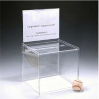 Wholesale factory custom wholesale acrylic donation box from china suppliers