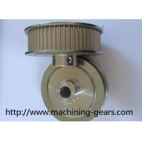 Wholesale Aluminum / Steel / Brass Synchronous Toothed Belt Pulley with Flanges from china suppliers