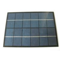 Wholesale Photovoltaic Crystalline 3V 750mA PET Solar Panel Custom Shaped Solar Panels from china suppliers