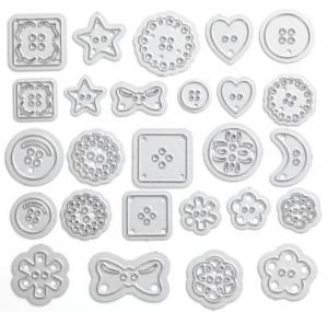 DIY bow scrapbook accessories Moon accessories Die Bow embossing file 3940