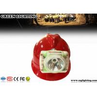 Wholesale GLC-6 IP68 5.2AH Mining Cap Lights With OLED Screen 200g Weight 13000 Lux from china suppliers