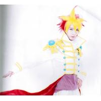 Wholesale Yellow Red YuGiOh Boys Custom Cosplay Wigs for Cold Water from china suppliers