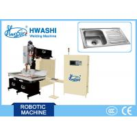 Wholesale Stainless Steel/ Kitchen &  Hotel Double Bowl Sink Automatic Welding Machine, Sink Seam Welding Equipment from china suppliers