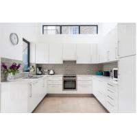 Wholesale High Quality Australia Modern White Kitchen Pantry Cupboards Kitchen Cabinets from china suppliers