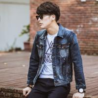 Wholesale Classic Retro Tailoring Mens Down Jean Jackets , 100 Cotton Mens Motorcycle Jackets from china suppliers