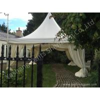 Wholesale Aluminum Profile High Peak Pole Tent Structure Decorated With Luxury Linings from china suppliers