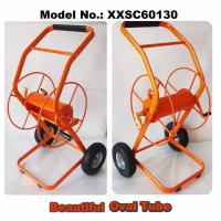 Hose Reel Cart, Oval Tube Frame, 70M (230F) Length Capacity for 3/4