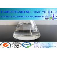 Wholesale CAS 78-81-9 Isobutylamine Transparent Chemistry Intermediate For Pesticides from china suppliers