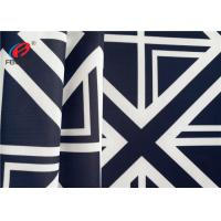 Wholesale 4 Way Digital Printed Stretched Polyester Spandex Fabric Swimwear / Swimsuit Fabric from china suppliers