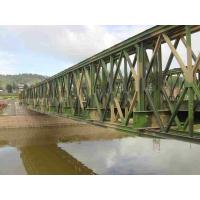 Quality Temporary Movable Modular Steel Bridges 45 Meters Span Truss Type Bailey Bridge for sale
