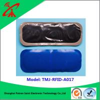 Wholesale Antenna Material Silicone Blue Rfid Smart Label For Garments UHF 860 - 960 MHz from china suppliers