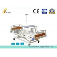 Wholesale 3 Position Hand Operated Medical Hospital Beds with Stainless Steel Guardrail (ALS-M319) from china suppliers