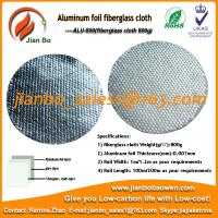 Buy cheap Aluminum foil fiberglass cloth as building construction material from wholesalers