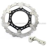 Wholesale 270mmm Motorcycle Brake Disc Rotor YZ 125 250 And Black Silver Alloy Adaptor from china suppliers