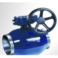 Quality Forged Body Trunnion Full Welded Ball Valve for sale