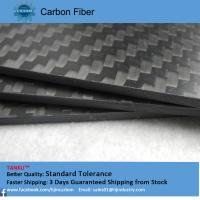 Wholesale Black Full Carbon Fiber Board good heat resistance customized from china suppliers
