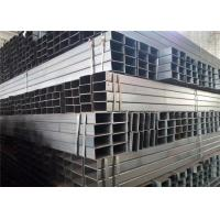 Wholesale EN 10219 10210 S235JR Thin Wall Rectangular Steel Tubing With Bare Or Painting Surface Treatment from china suppliers