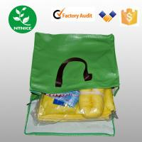 Yellow 100% polypropylene Spill Control Chemical Haz-chem Absorbent Sorbent Pad (Sheet)