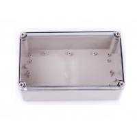 Wholesale Square Plastic IP66 250*150*130mm Clear Lid Enclosures from china suppliers