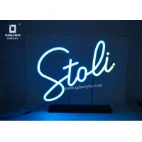 Wholesale Flexible Personalized / Custom Neon Signs Counter Type Eye - catching Logo from china suppliers