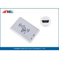 Wholesale Compact NFC RFID Reader Desktop Square NFC Reader Integrated Key Handling from china suppliers