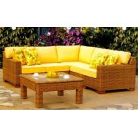 Wholesale Rattan Wicker Outdoor Sectional Patio Furniture Sofa Sets With Cushion from china suppliers
