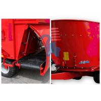 Wholesale Red Color Animal Feed Mill Mixer Feeder Wagons For Sheep Stations Standard Type from china suppliers