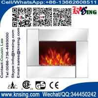 Wholesale Wall Mount Electric Fireplace Heaters Mirror Base EF452S/EF452SL/EF452SLB remote control pebbles flame room heater from china suppliers