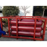 Quality ISO9809 Large Capcity CNG Cylinder Compressed Natural Gas Storage Tank Cascade for sale