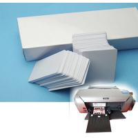 Wholesale EPSON inkjet printer R270 R230 R290 T50 L800 Direct Inkjet print PVC white Card/chip card from china suppliers