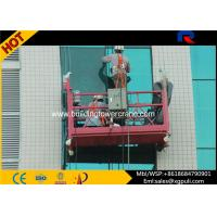 Wholesale Customized Aluminum Alloy Suspended Working Platform For Construction Building from china suppliers