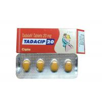 Wholesale Cipla Tadacip 20 Mg For Male Sexual Improvement , Tadalafil Tablets 20mg Pills from china suppliers