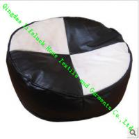 Wholesale Indoor Plain Dining Chair Cushions For Kids , Bubble Particle Round Floor Mats from china suppliers