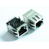 Wholesale ARJP11A-MASA-B-A-EMU2 Tab Down RJ-45 Magnetic Jack PCB Mounting Standard With PoE from china suppliers